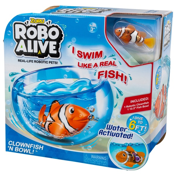 Robo Alive Fish Playset Robots Uk