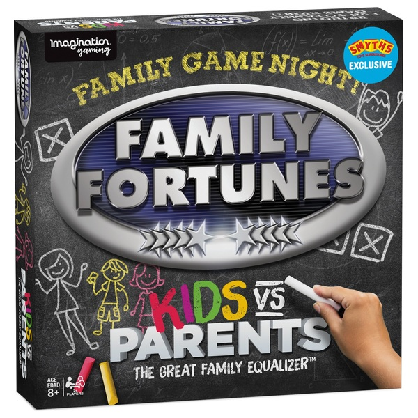 Family Fortunes Kids vs Parents