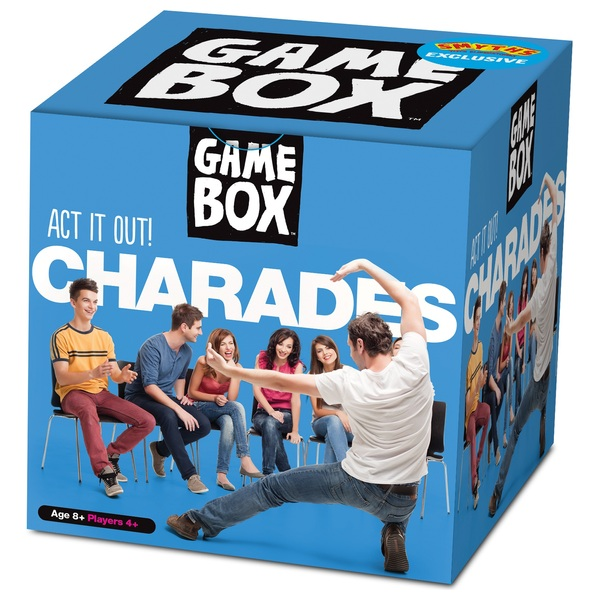 Game Box Charades Family Board Games Uk