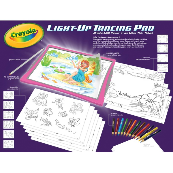 light up tracing pad crayola uk