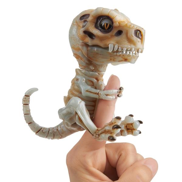 Untamed Bonehead Skeleton T-Rex by Fingerlings - Doom (Ash)
