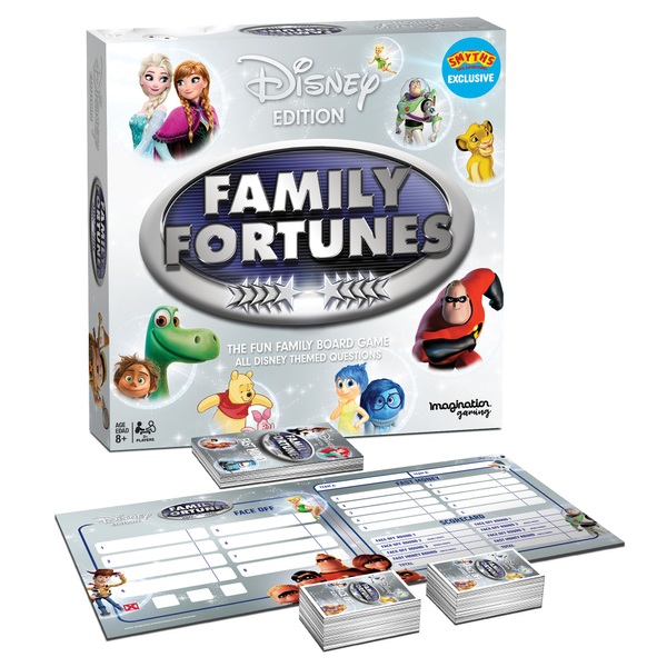 Family Fortunes Disney Edition Board Game