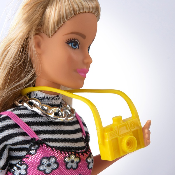 Barbie Pink Passport Travel Doll