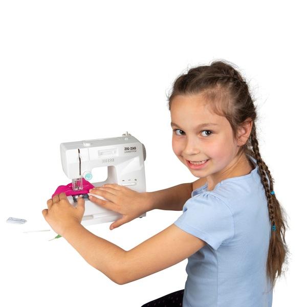 Zig-Zag Lockstitch Battery Operated Sewing Machine
