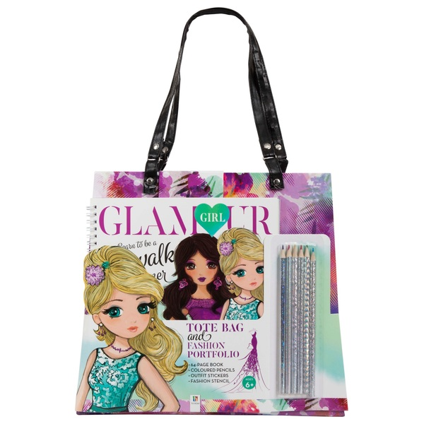 41addbcf Glamour Girl Tote Bag with Book - Fashion Craft UK