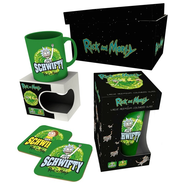 Rick and Morty Get Schwifty Gift Box Set