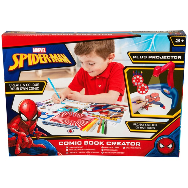Spider-Man Evergreen Projector and Comic Book Maker