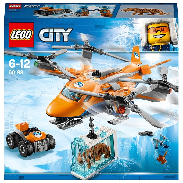 LEGO 60193 City Arctic Expedition Air Transport Helicopter Toy - LEGO City  Ireland