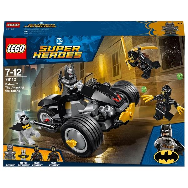 LEGO 76110 DC Comics Super Heroes Batman: The Attack of the Talons
