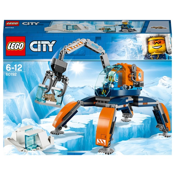 LEGO 60192 City Arctic Expedition Ice Crawler Winter Toy