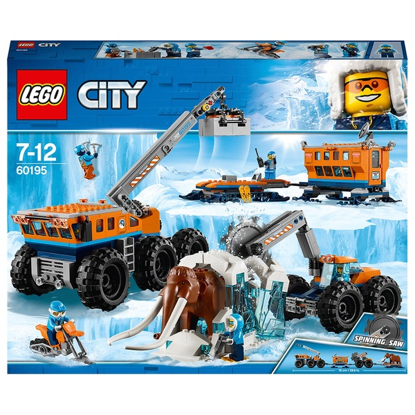 LEGO 60195 City Arctic Expedition Mobile Exploration Base Toy