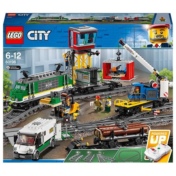 Lego 60198 City Cargo Train Rc And Tracks Building Set Lego
