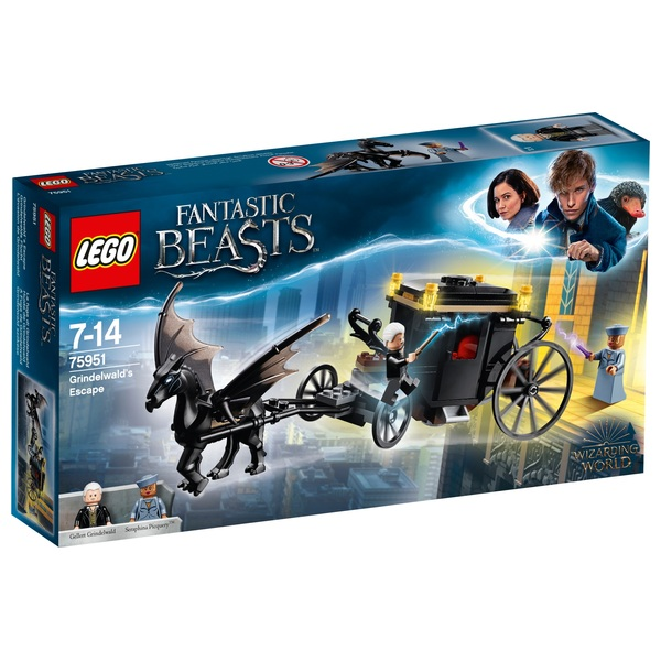 LEGO 75951 Harry Potter Grindelwald´s Escape Toy