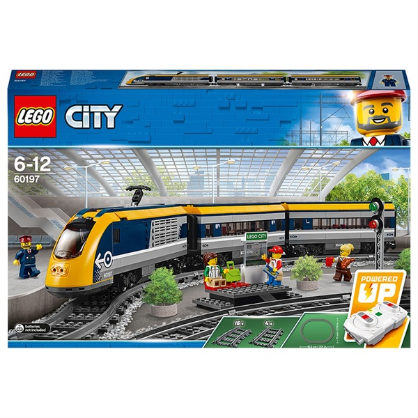 LEGO 60197 City Passenger Train Toy and Tracks Building Set