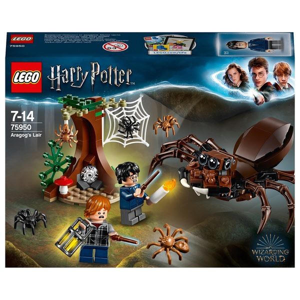 LEGO 75950 Harry Potter Aragog's Lair Building Set
