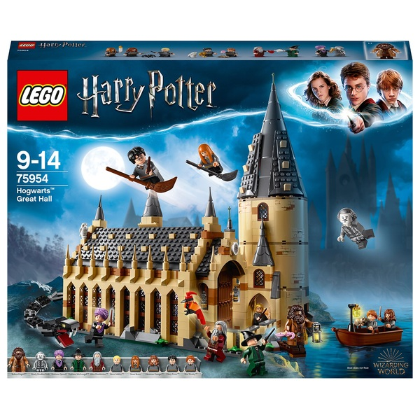 LEGO 75954 Harry Potter Hogwarts Great Hall Castle Toy