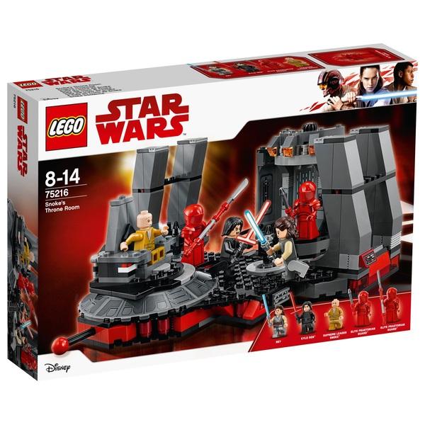 96b4143e5a43 LEGO 75216 Star Wars The Last Jedi Snoke's Throne Room - LEGO ...