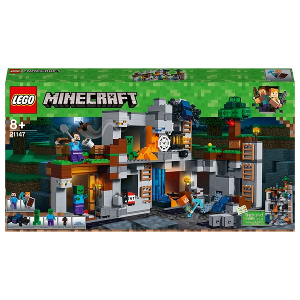 LEGO 21147 Minecraft The Bedrock Adventures Building Set