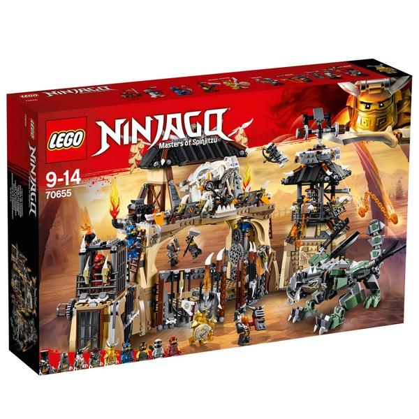 LEGO 70655 Ninjago Dragon Pit Ninja Heroes Toy Building Kit