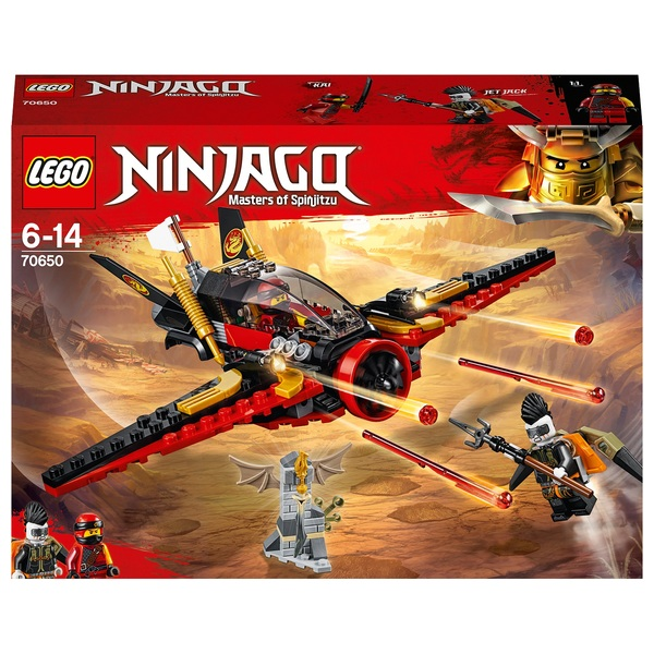 LEGO 70650 NINJAGO Destiny's Wing Toy Jet Plane Building Set