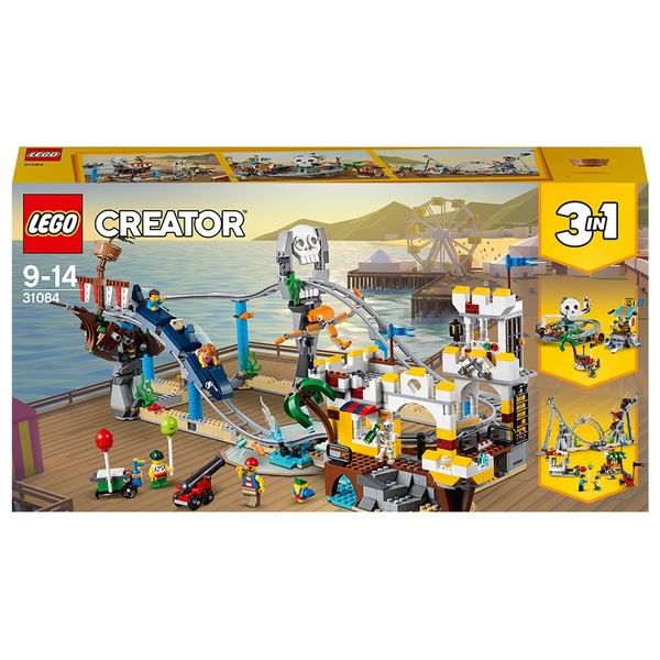 LEGO 31084 CREATOR Pirate Roller Coaster Building Toy Set