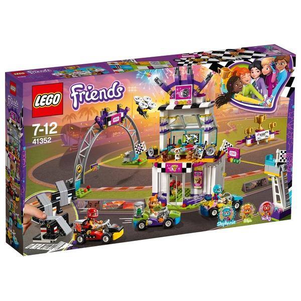 Lego 41352 Friends Heartlake The Big Race Day Kart Toy Lego