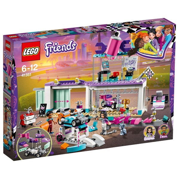 LEGO 41351 Friends Heartlake Creative Tuning Shop Building Set