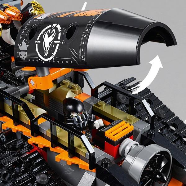 LEGO 70654 Ninjago Dieselnaut Tank Dragon Hunters Toy ...