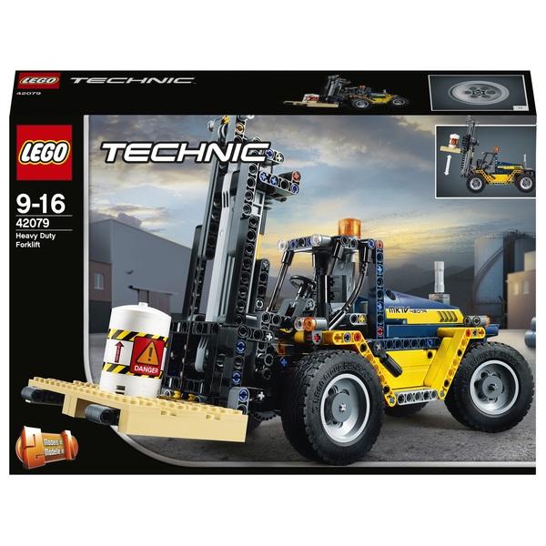 LEGO 42079 Technic Heavy Duty Forklift Truck Set