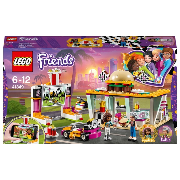 LEGO 41349 Friends Heartlake Drifting Retro Diner Building Set