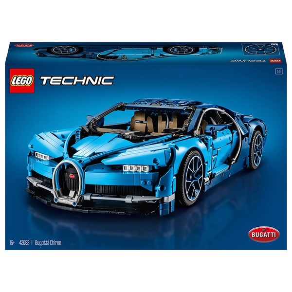 LEGO 42083 Technic Bugatti Chiron Sports Race Car Set