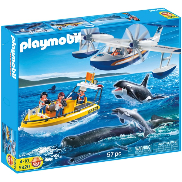 Playmobil 5920 City Action Floating Whale Watching Set