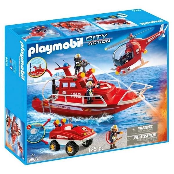 Playmobil 9503 City Action Fire Brigade Set