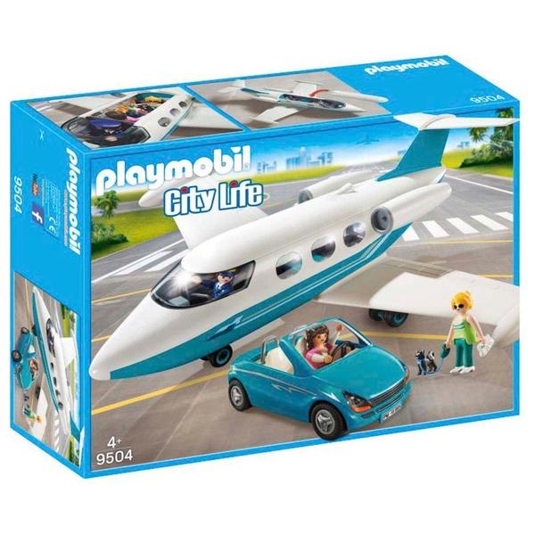 Playmobil 9504 Executive Jet & Car