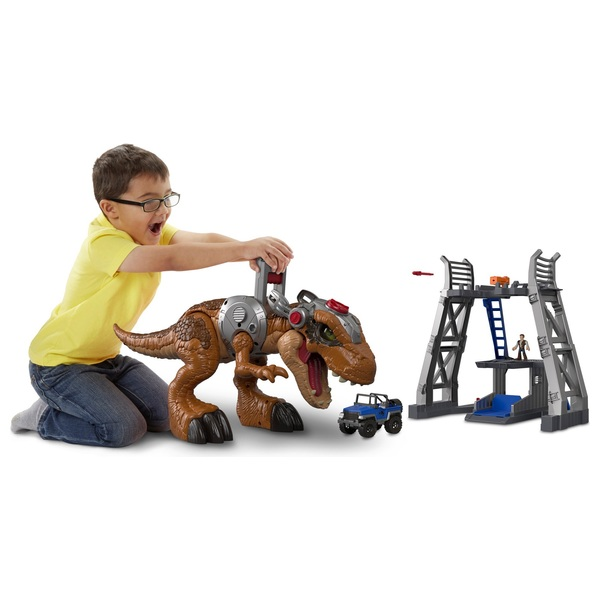 Imaginext Jurassic World Jurassic Rex & Playset