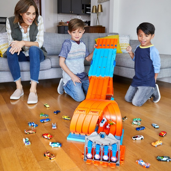Hot Wheels Track Builder System Race Crate Toy Cars Playset