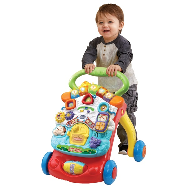 VTech First Steps Red Baby Walker