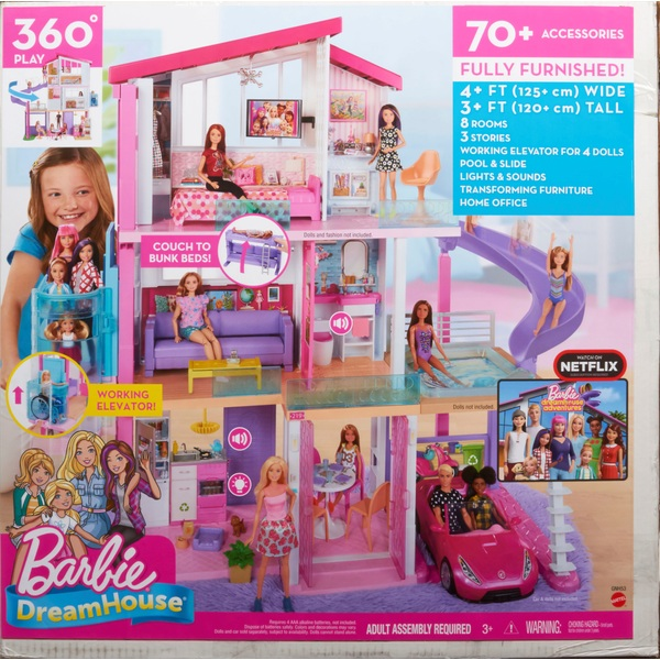 Barbie Dreamhouse Barbie Playsets Range Ireland