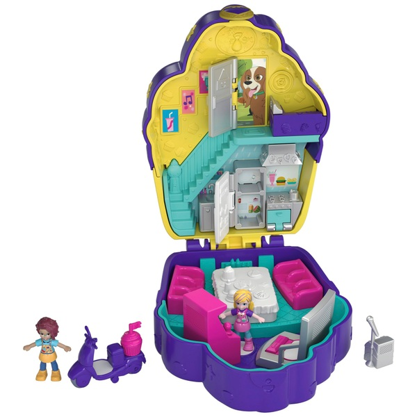Polly Pocket Pocket World Cupcake Compact