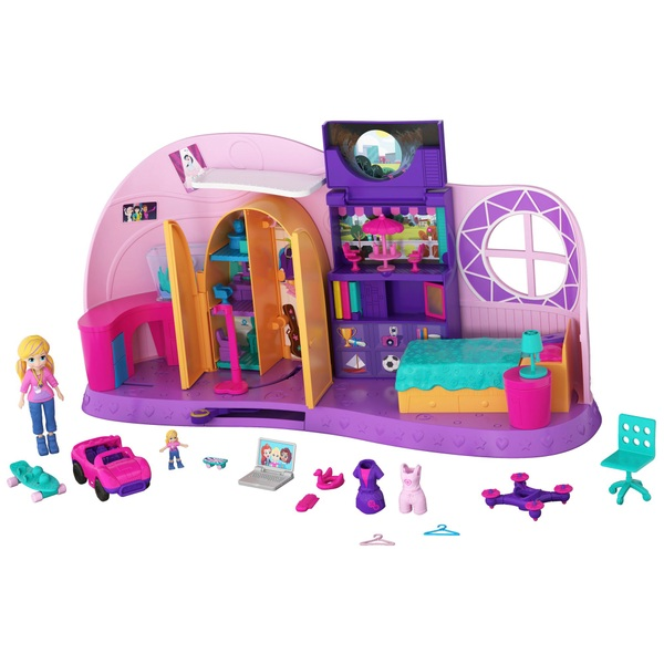 Polly Pocket Go Tiny! Room Playset - Polly Pocket UK