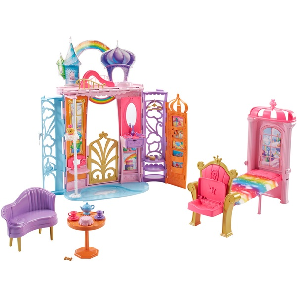 Barbie Dreamtopia Castle Portable Playset with Accessories