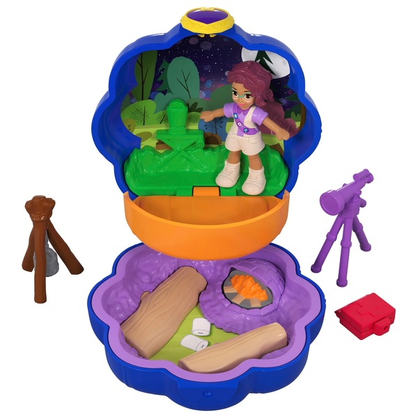Polly Pocket Tiny Pocket Places Camping Compact