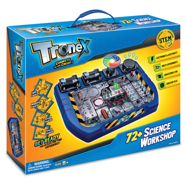 Tronex: 72+ Science Workshop