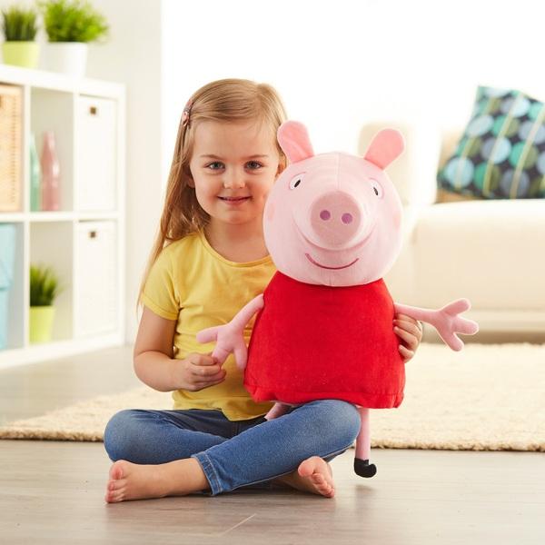 Peppa Pig Talking Plush Red Dress