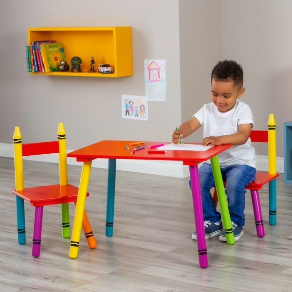 Crayon Table and Chair Set