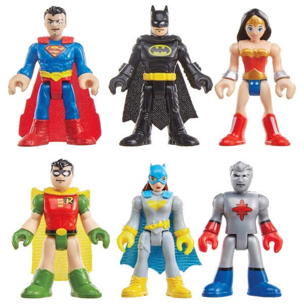 Imaginext Dc Super Friends Legends of Batman Heroes of Gotham City
