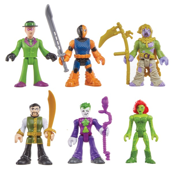 Imaginext Dc Super Friends Legends of Batman Villains of Gotham City
