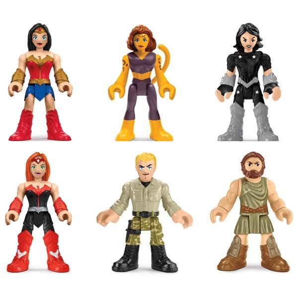 Imaginext Dc Super Friends Legends of Batman Wonder Woman Heroes & Villains