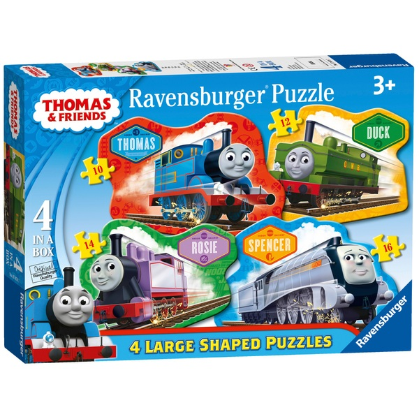 Thomas & Friends 4 Large Shaped Puzzles