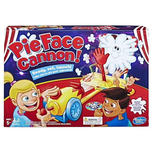 Pie Face Cannon Game Whipped Cream Family Board Game